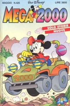Copertina MEGA n.425 - MEGA                       425, WALT DISNEY PRODUCTION