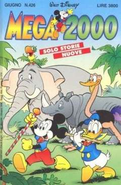 Copertina MEGA n.426 - MEGA                       426, WALT DISNEY PRODUCTION