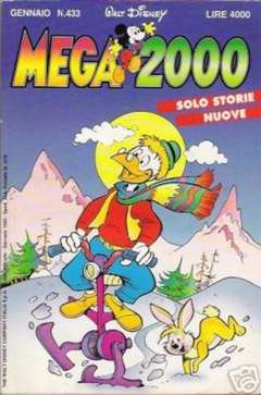 Copertina MEGA n.433 - MEGA                       433, WALT DISNEY PRODUCTION