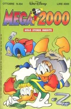 Copertina MEGA n.454 - MEGA                       454, WALT DISNEY PRODUCTION