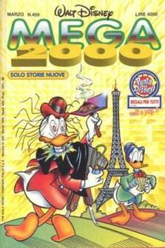 Copertina MEGA n.459 - MEGA                       459, WALT DISNEY PRODUCTION