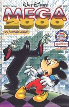 Copertina MEGA n.460 - MEGA                       460, WALT DISNEY PRODUCTION