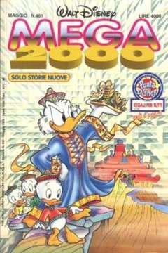 Copertina MEGA n.461 - MEGA                       461, WALT DISNEY PRODUCTION