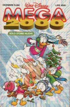 Copertina MEGA n.480 - MEGA                       480, WALT DISNEY PRODUCTION