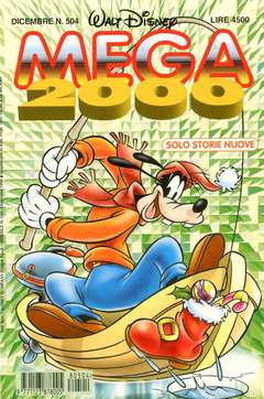 Copertina MEGA n.504 - MEGA                       504, WALT DISNEY PRODUCTION