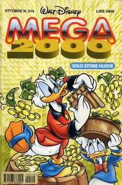Copertina MEGA n.514 - MEGA                       514, WALT DISNEY PRODUCTION