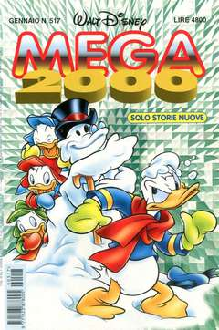 Copertina MEGA n.517 - MEGA                       517, WALT DISNEY PRODUCTION