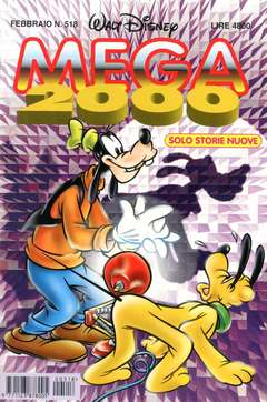 Copertina MEGA n.518 - MEGA                       518, WALT DISNEY PRODUCTION