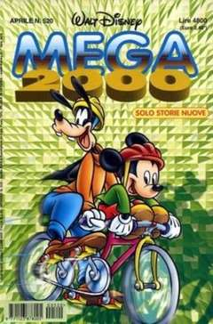 Copertina MEGA n.520 - MEGA                       520, WALT DISNEY PRODUCTION