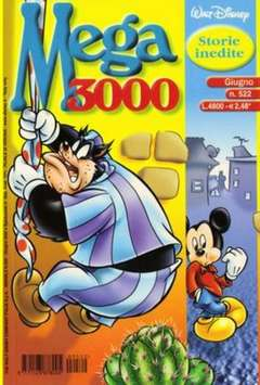 Copertina MEGA n.522 - MEGA                       522, WALT DISNEY PRODUCTION