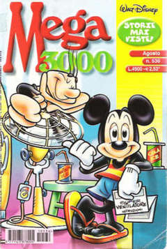 Copertina MEGA n.536 - MEGA                       536, WALT DISNEY PRODUCTION