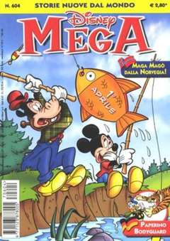 Copertina MEGA n.604 - MEGA                       604, WALT DISNEY PRODUCTION
