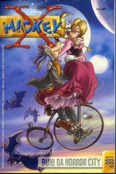 Copertina X MICKEY n.10 - 991 - Buh! Da Horror City, WALT DISNEY PRODUCTION