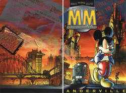 Copertina MICKEY MOUSE MISTERY n. - Anderville, WALT DISNEY PRODUCTION