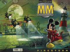 Copertina MICKEY MOUSE MISTERY n.5 - Firestorm, WALT DISNEY PRODUCTION
