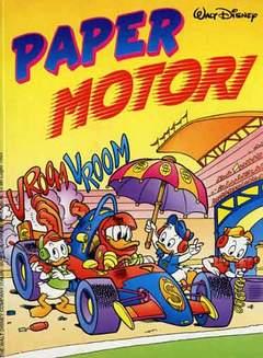 Copertina PAPER MOTORI n. - PAPER MOTORI, WALT DISNEY PRODUCTION