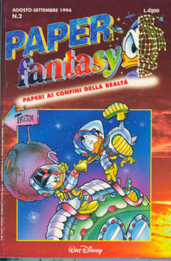 Copertina PAPERFANTASY n.2 - PAPERFANTASY                 2, WALT DISNEY PRODUCTION