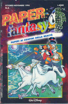 Copertina PAPERFANTASY n.3 - PAPERFANTASY                 3, WALT DISNEY PRODUCTION
