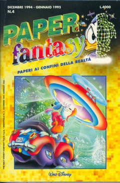 Copertina PAPERFANTASY n.4 - PAPERFANTASY                 4, WALT DISNEY PRODUCTION