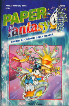 Copertina PAPERFANTASY n.6 - PAPERFANTASY                 6, WALT DISNEY PRODUCTION