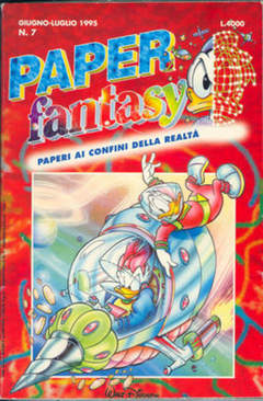 Copertina PAPERFANTASY n.7 - PAPERFANTASY                 7, WALT DISNEY PRODUCTION