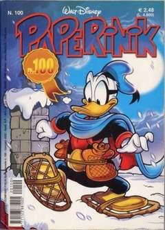 Copertina PAPERINIK n.100 - PAPERINIK                  100, WALT DISNEY PRODUCTION