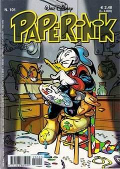 Copertina PAPERINIK n.101 - PAPERINIK                  101, WALT DISNEY PRODUCTION