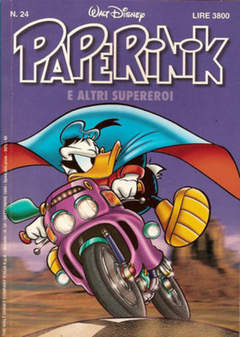 Copertina PAPERINIK n.24 - PAPERINIK                   24, WALT DISNEY PRODUCTION