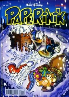 Copertina PAPERINIK n.75 - PAPERINIK                   75, WALT DISNEY PRODUCTION