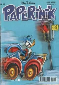Copertina PAPERINIK n.86 - PAPERINIK                   86, WALT DISNEY PRODUCTION
