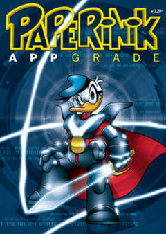 Copertina PAPERINIK APPGRADE n.10 - PAPERINIK APPGRADE          10, WALT DISNEY PRODUCTION