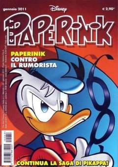 Copertina PAPERINIK CULT n.69 - PAPERINIK CULT              69, WALT DISNEY PRODUCTION