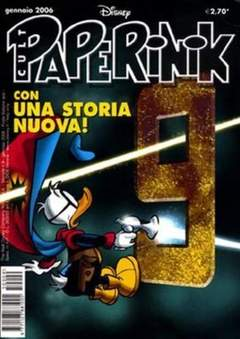Copertina PAPERINIK CULT n.9 - PAPERINIK CULT               9, WALT DISNEY PRODUCTION