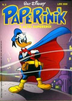 Copertina PAPERINIK n.3 - PAPERINIK                    3, WALT DISNEY PRODUCTION