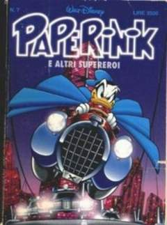 Copertina PAPERINIK n.7 - PAPERINIK                    7, WALT DISNEY PRODUCTION