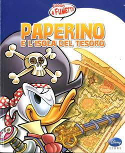 Copertina PAPERINO E L'ISOLA DEL TESORO n. - PAPERINO E L'ISOLA DEL TESORO, WALT DISNEY PRODUCTION