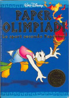 Copertina PIUDISNEY n.15 - Paperolimpiadi - Lo sport secondo Paperino, WALT DISNEY PRODUCTION