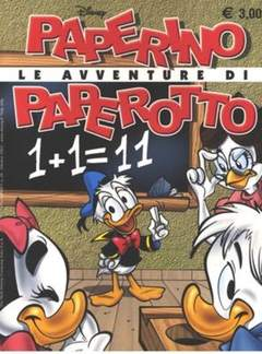 Copertina PIUDISNEY n.28 - Le avventure di Paperino Paperotto, WALT DISNEY PRODUCTION