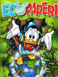 Copertina PIUDISNEY n.42 - Eco Paperi, WALT DISNEY PRODUCTION