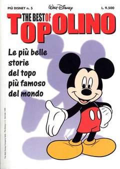 Copertina PIUDISNEY n.5 - BEST OF TOPOLINO EDICOLA, WALT DISNEY PRODUCTION