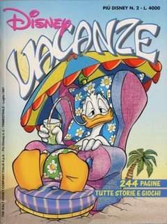 Copertina PIUDISNEY n.2 - Disney Vacanze, WALT DISNEY PRODUCTION
