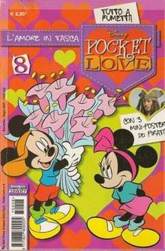 Copertina POCKET LOVE n.8 - POCKET LOVE                  8, WALT DISNEY PRODUCTION