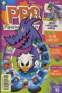 Copertina PP8 PAPERINO PAPEROTTO n.10 - PP8 PAPERINO PAPEROTTO      10, WALT DISNEY PRODUCTION