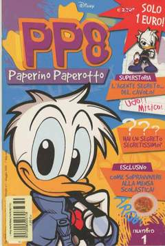 Copertina PP8 PAPERINO PAPEROTTO n.1 - PP8 PAPERINO PAPEROTTO       1, WALT DISNEY PRODUCTION