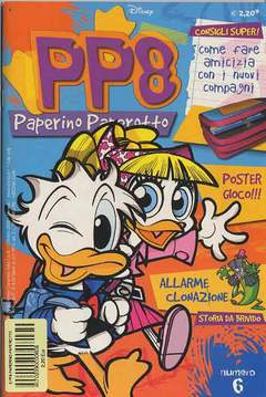 Copertina PP8 PAPERINO PAPEROTTO n.6 - PP8 PAPERINO PAPEROTTO       6, WALT DISNEY PRODUCTION