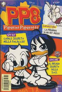 Copertina PP8 PAPERINO PAPEROTTO n.8 - PP8 PAPERINO PAPEROTTO       8, WALT DISNEY PRODUCTION