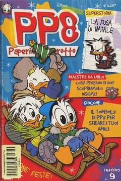 Copertina PP8 PAPERINO PAPEROTTO n.9 - PP8 PAPERINO PAPEROTTO       9, WALT DISNEY PRODUCTION