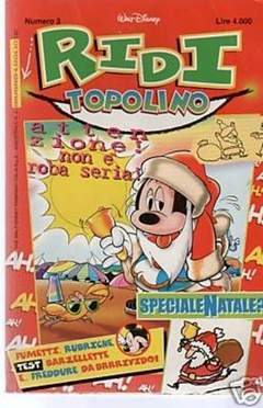 Copertina RIDI TOPOLINO n.3 - RIDI TOPOLINO                3, WALT DISNEY PRODUCTION