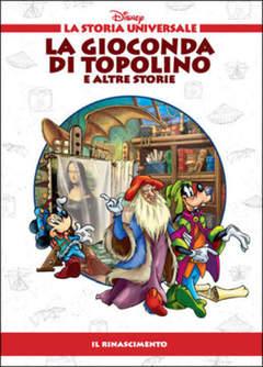 Copertina STORIA UNIVERSALE DISNEY n.16 - La Gioconda di Topolino e altre storie, WALT DISNEY PRODUCTION