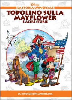 Copertina STORIA UNIVERSALE DISNEY n.23 - Topolino sulla Mayflower e altre storie, WALT DISNEY PRODUCTION
